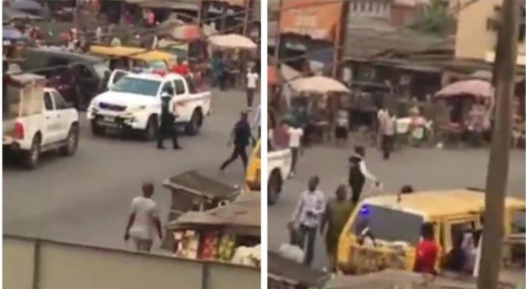 Drama As Policemen Arrests Fellow Officers For Collecting Bribes From Motorists In Lagos [Video] 1