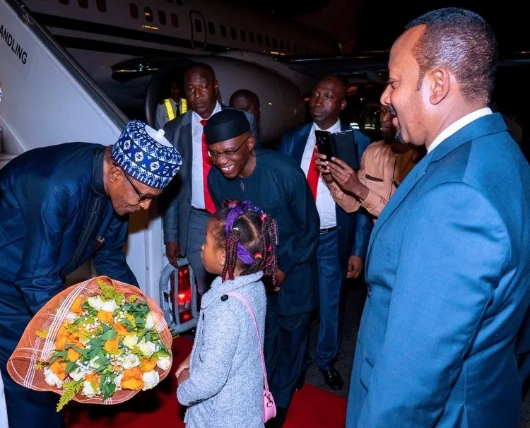 Buhari, Uzodinma And Ayade Travels To Addis Ababa For AU Meeting In Ethiopia [Photos] 1