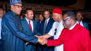 Buhari, Uzodinma And Ayade Travels To Addis Ababa For AU Meeting In Ethiopia [Photos] 6