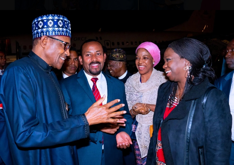 Buhari, Uzodinma And Ayade Travels To Addis Ababa For AU Meeting In Ethiopia [Photos] 3