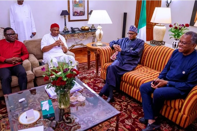Buhari, Uzodinma And Ayade Travels To Addis Ababa For AU Meeting In Ethiopia [Photos] 5