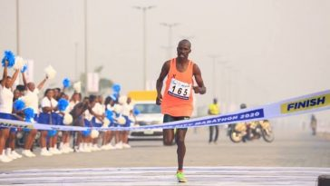 Kenyan Runner, David Barmasai Tumo Breaks 4 Years Record To Win Lagos City Marathon 1