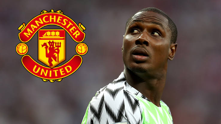 Odion Ighalo Removed From Manchester United's Football Squad Over Fear Of Coronavirus 1