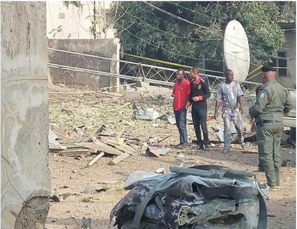 Pandemonium As Bomb Explosion Rocks Ekiti Government House [Photos] 6