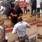 Man Strips To Underwear After Lady Publicly Turned Down His Marriage Proposal In Calabar [Video] 27