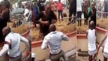 Man Strips To Underwear After Lady Publicly Turned Down His Marriage Proposal In Calabar [Video] 7