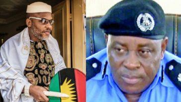Nnamdi Kanu Threatens To Hunt Down Children Of Abia Police Commissioner, Ene Okon 4