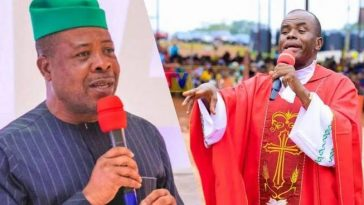 Father Mbaka Didn't Apologise To Me Over His Supreme Court Prophecy - Emeka Ihedioha 4
