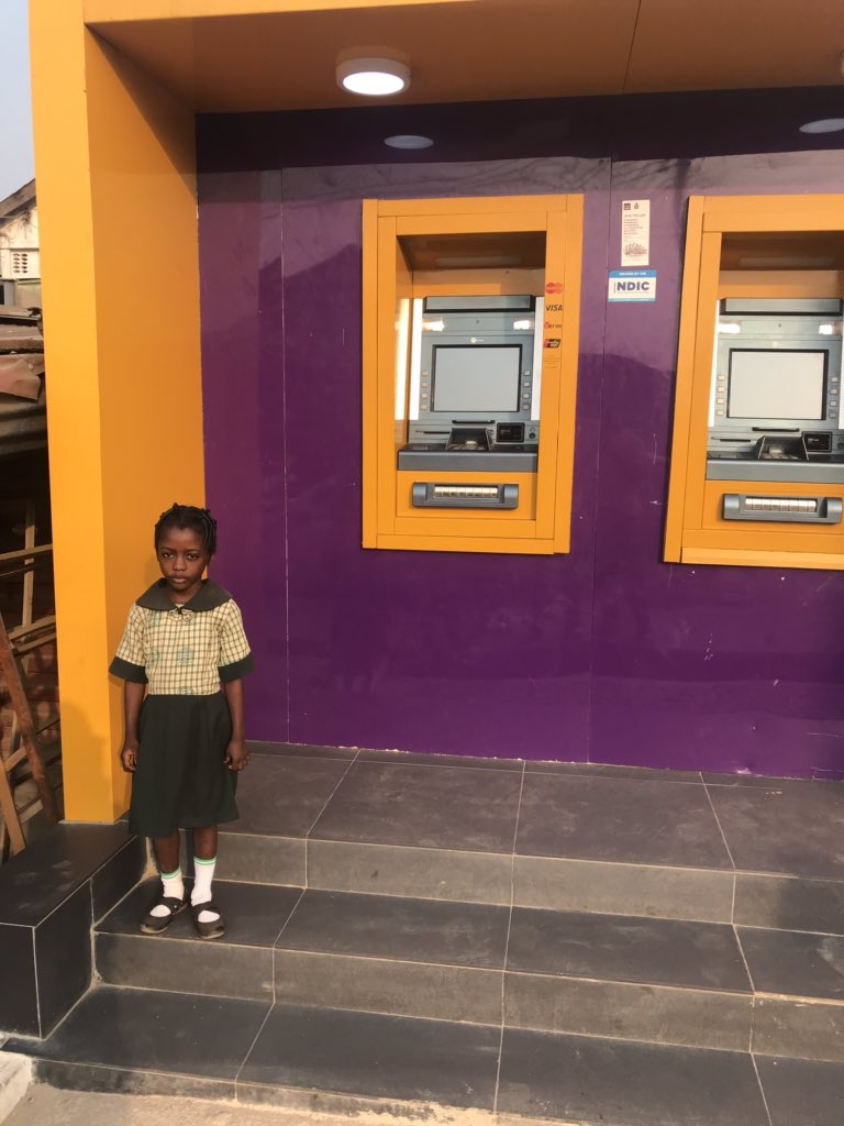 FCMB Gifts Little Girl N1million, Awards Her Scholarship For Using ATM Light To Write Her Assignment 2