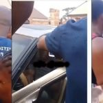Drama As 'Stranded Wizard Sent From Heaven' Gets Trapped Inside A Car In Benin [Video] 28