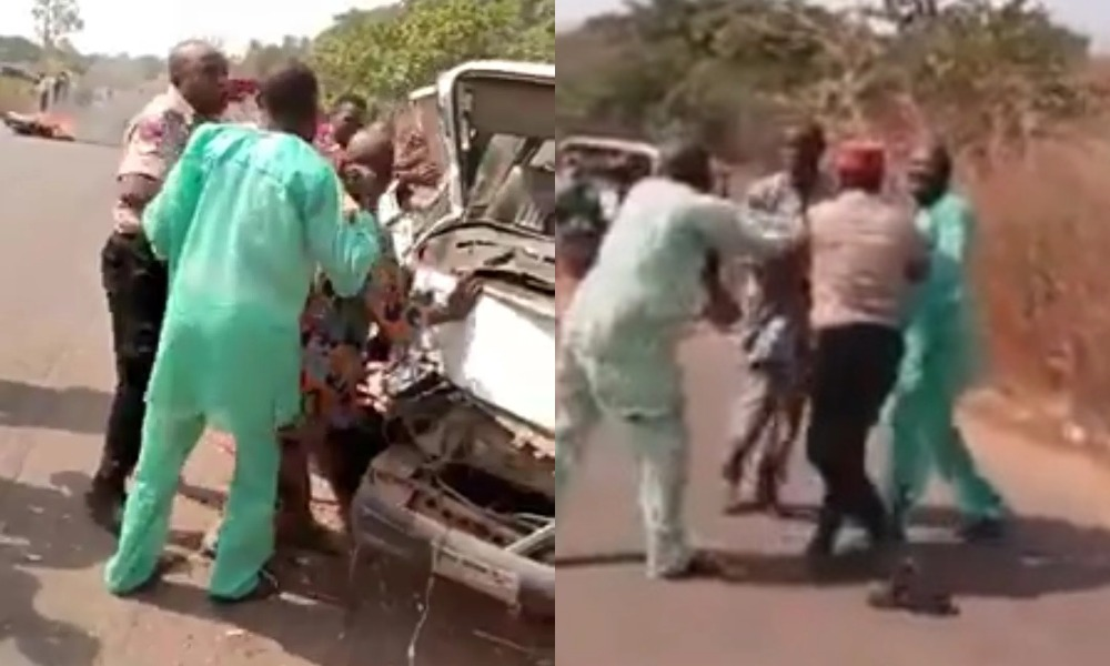 Six People Dies As FRSC Causes Accident While Chasing A Commercial Bus In Oyo State [Video] 1