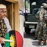 Nigerian Soldiers Block Entrance To Nnamdi Kanu's Residence Ahead Of His Parents' Burial 27