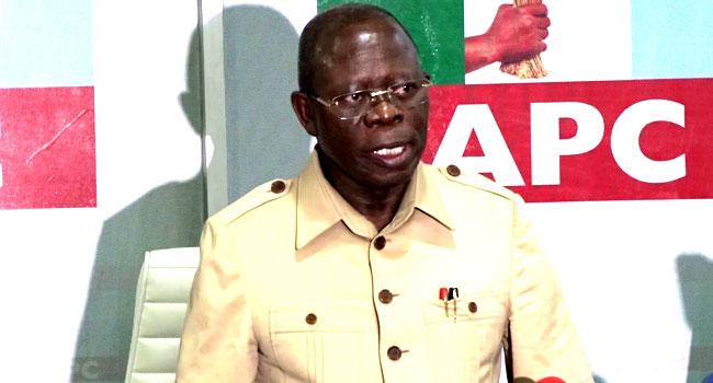 Adams Oshiomhole Says He Won't Accept Returning As APC National Chairman Again 1
