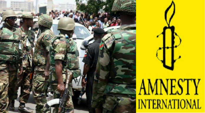 Nigerian Army Accused Of Detaining Innocent People, Burning Houses And Villages In Maiduguri 1