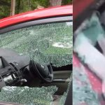 Woman Gives Valentine's Gift To Ex-Boyfriend By Destroying His New Car In Lagos [Video] 28