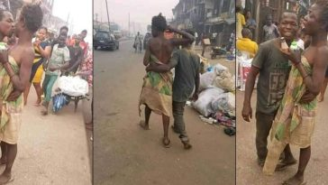 Viral Photos Of Mentally Challenged Couple Celebrating Valentine's Day On The Street Of Edo 2