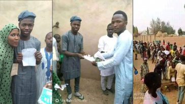 Bauchi Elders Conducts Election To Help Young Lady Choose Between 2 Male Suitors [Photos] 8