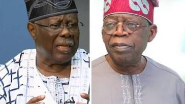I Will Disown Nigeria For Togo If Tinubu Becomes President - Bode George 8