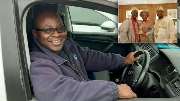 Nigerian Prince, Akeem Adenuga Gives Up Royalty For Fixing Leaking Water Pipes In London 4