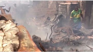 Tragedy As 3 Siblings Between 2 Months And 5 Years Die In Fire Accident In Anambra [Photos] 6