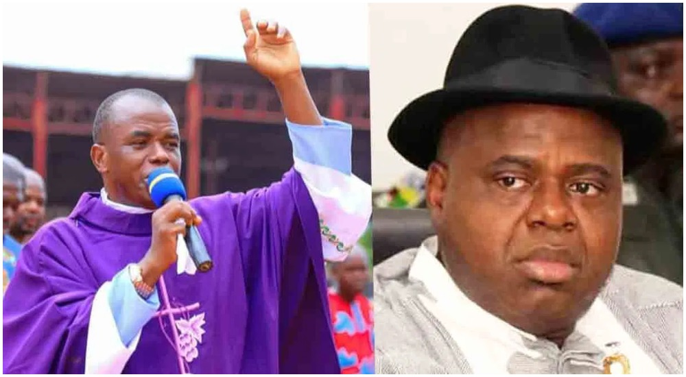 Fr. Mbaka Speaks On His Prophecy About New Bayelsa Governor, Duoye Diri 1