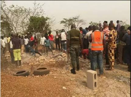 Eight Corpses Of Farmers Killed By Herdsmen In Delta Exhumed To Prove Police Wrong 1