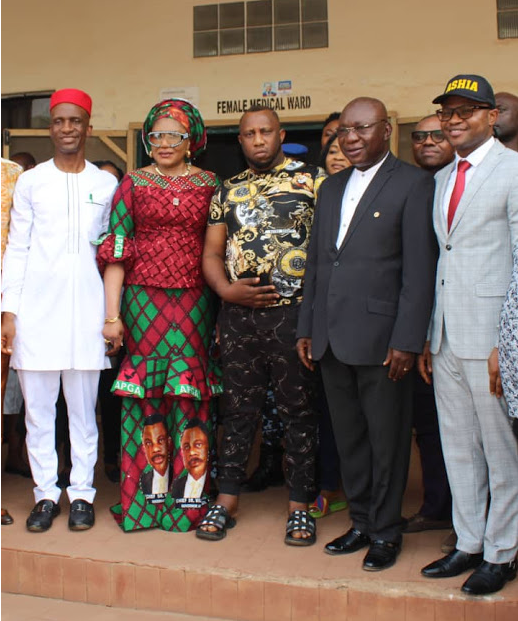Anambra First Lady Intervenes On Health Challenges Of Nollywood Actor, Ernest Asuzu [Photos] 1