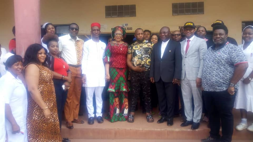 Anambra First Lady Intervenes On Health Challenges Of Nollywood Actor, Ernest Asuzu [Photos] 6