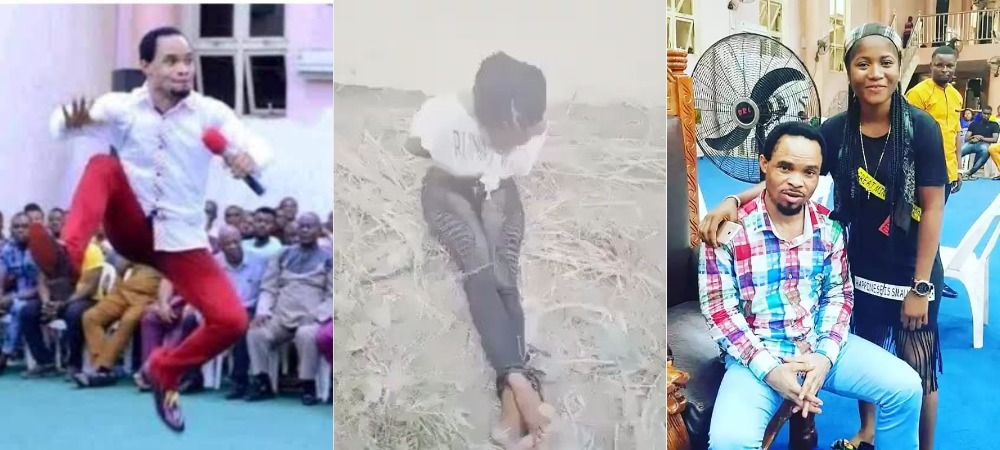 Pastor Odumeje's Church Members Brutalizes Female Comedian Who Made Fun Of Him [Video] 1