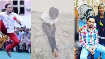 Pastor Odumeje's Church Members Brutalizes Female Comedian Who Made Fun Of Him [Video] 5