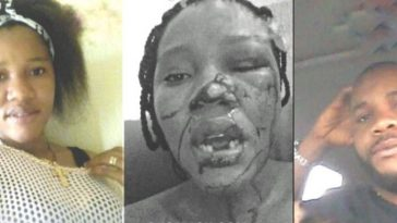 Nigerian Man Beats Wife Mercilessly After DNA Result Proved He's Not The Father Of Their 3 Kids 15
