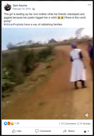 Young Lady Flogs Her Mother Mercilessly After Pastor Accused Her Of Being A Witch [Video] 2