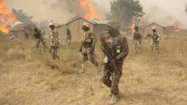 Serious Tension In Adamawa As Nigerian Army And Boko Haram Engages In Fierce Gun Battle 12