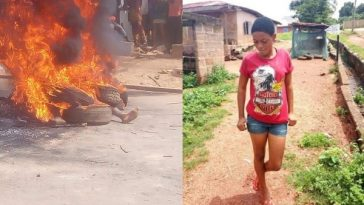 2 Yahoo Boys, Native Doctor, Kidnapper Burnt Alive For Killing 17-Year-Old Girl In Edo [Photos] 6