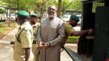 BREAKING: Olisa Metuh Sentenced To Prison After Being Found Guilty Of Laundering N400 Million 2