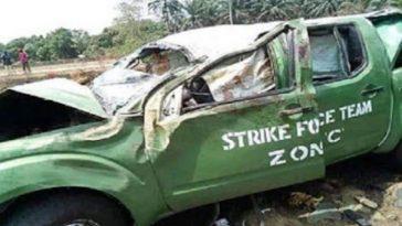 2 Nigerian Custom Officers Dies In Car Crash While Chasing Suspected Rice Smugglers In Akwa Ibom 4