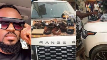 Nigerian Man Laments Hows His Range Rover Was Converted To A Shop At Computer Village In Lagos 8