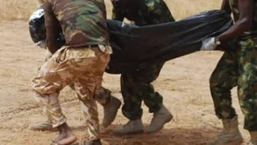 Depressed Nigerian Soldier Kills 4 Colleagues, Commits Suicide Over Wife's Infidelity In Borno 2