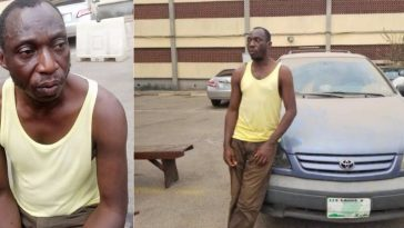 Police Arrests Father Of Four Who Uses His Sienna Bus For 'One Chance' Robbery Operation In Lagos 12