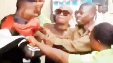 Outrage As Yabatech Security Guards Assaults Undergraduate Because He Wore Ripped Jeans [Video] 8