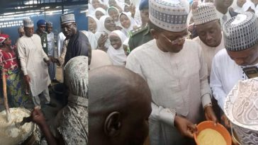 Zamfara Governor Orders School Principals, Teachers To Eat Poor Quality Meal Provided For Students 7