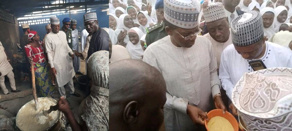 Zamfara Governor Orders School Principals, Teachers To Eat Poor Quality Meal Provided For Students 1