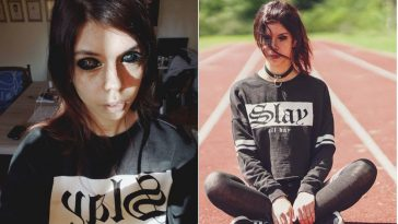 25-Years-Old Polish Model Goes Completely Blind After Getting Her Eyeballs Dyed Black [Photos] 5