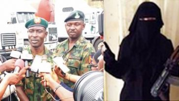 Nigerian Army Arrests Female Bandit Who Was Dancing With AK-47 Rifle During A Party In Kaduna 1