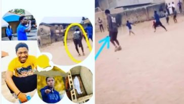 Fast-Rising Nigerian Rapper Slumps And Dies While Playing Football In Ogun State [Photos/Video] 4