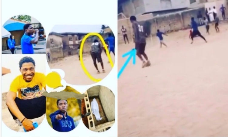 Fast-Rising Nigerian Rapper Slumps And Dies While Playing Football In Ogun State [Photos/Video] 1