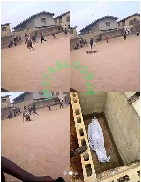 Fast-Rising Nigerian Rapper Slumps And Dies While Playing Football In Ogun State [Photos/Video] 2