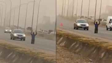 Man Goes Viral After He Was Spotted Praying In The Middle Of A Busy Road In Abuja [Video] 6
