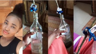 Lady Stumbles Upon Picture Of Herself In A 'Voodoo Bottle' In Her Best Friend's Closet [Photos] 11