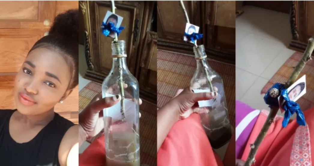 Lady Stumbles Upon Picture Of Herself In A 'Voodoo Bottle' In Her Best Friend's Closet [Photos] 1